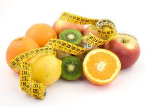 diet concept - healthy food
